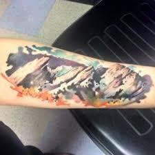 tattoo of the boulder flatirons colorado tattoos pinterest