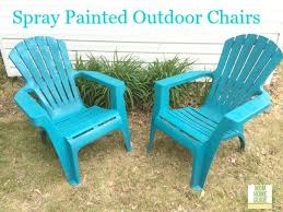 Best Spray Paint For Plastic Chairs The 25 Best Painting Plastic Chairs Ideas On Pinterest Painting
