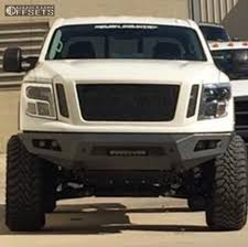 titan nissan 2016 wheel offset 2016 nissan titan xd super aggressive 3 5 suspension