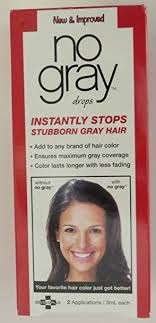 gray hair popular now amazon com no gray hair color additive 2 applications chemical