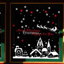 christmas christmas window decorations shop decor paper online