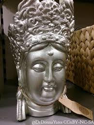 Buddha Home Decor Statues by Illicit Antiquities Chic Faux Decapitated Buddha Heads As Decor