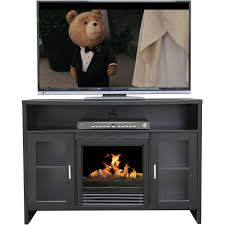 whalen media fireplace console for tvs up to 50