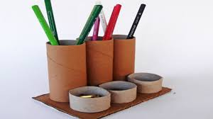 paper tube holder best from waste material easy step to follow