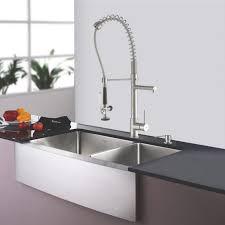 kraus kitchen faucet interior kraus 33 inch farmhouse bowl stainless steel