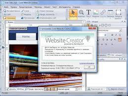 corel website creator x7 full version free