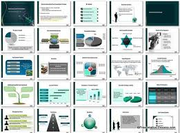 Card Powerpoint Template Set Cool Ppt Designs