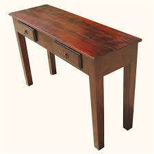 Foyer Table With Storage Wood Storage Drawers Console Entry Way Foyer Table Foyer