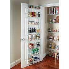over the door organizer closetmaid 8 tier over the door adjustable wire rack white target