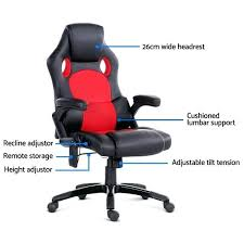 heated office chair wonderful 8 point massage office chair racing