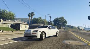 rolls royce light blue rolls royce wraith 2015 gta5 mods com