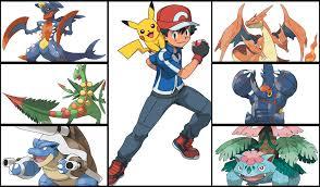 if ash evolved his pokemon he u0027d have a badass mega evolution team