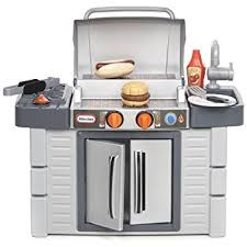 Little Tikes Wooden Kitchen by Amazon Com Little Tikes Get Out N Grill Toys U0026 Games
