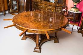 Jupe Dining Table Stunning Burr Walnut Jupe Dining Table At 1stdibs