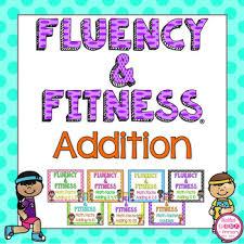 math facts addition math facts fluency fitness brain breaks bundle tpt