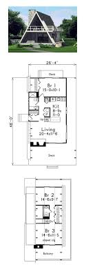 bedroom 2 bedroom a frame house plans
