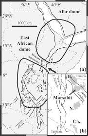 evolution of the lithospheric mantle beneath the marsabit volcanic