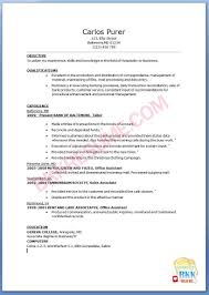 Sample Resume Objectives For Housekeeping by Resume Objective For Banking Good It Resume Objective Statement