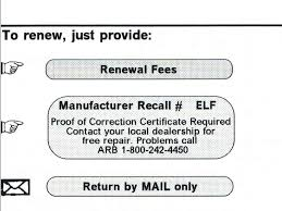 lexus recall registration i can u0027t register my car because of an outstanding recall u2013 phuoc com