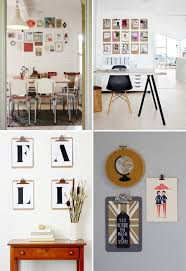 hang pictures without frames clipboards used instead of frames other creative photo display