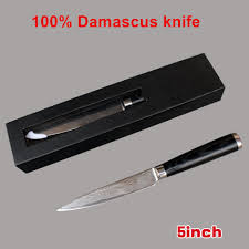 popular damascus utility knife buy cheap damascus utility knife