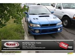 subaru coupe rs 1999 rally blue pearl subaru impreza rs coupe 71274767 gtcarlot