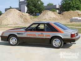 mustang of indianapolis 1979 mustang indy pace car mustang monthly magazine