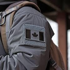 Flag Ir Canadian Flag Velcro Patches Perroz Designs
