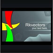 Free Online Business Card Design Vector Business Card Designs Freevectors Net