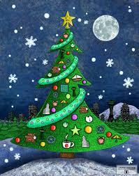 christmas holiday art u2013 fun whimsical art