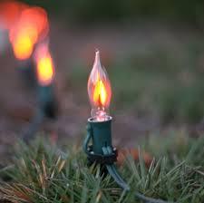 flicker flame string lights c7 christmas light bulb c7 flicker flame clear christmas light