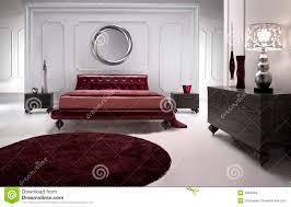 tapis chambre a coucher chambre à coucher en cuir luxueuse image stock image du