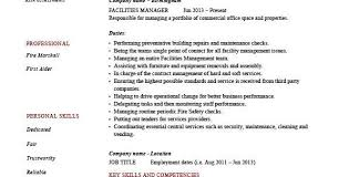 Resume Examples Entry Level by Hospitality Management Resume Sample