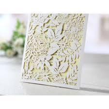 laser cutting flower side fold big wedding card the secret garden