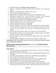 download oracle dba resume haadyaooverbayresort com