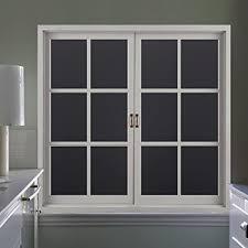 light blocking window film amazon com rabbitgoo blackout window film privacy window cling dark
