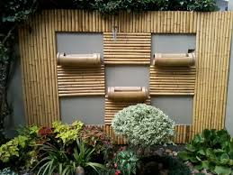 bamboo decoration u2013 an exotic flair for the garden hum ideas