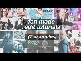 how to make fan video edits this video although self explanatory is a tutorial video on how to