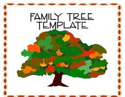family tree template by techbytes teachers pay teachers