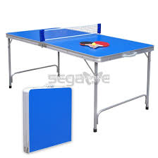 Foldable Ping Pong Table Awesome Folding Ping Pong Table Espn 4 Piece Table Tennis Table