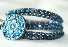 wrap bracelet with beads images Bead wrap bracelet how to make a bead wrap bracelet tutorial jpg