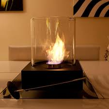 table top fire the flame sphere bio ethanol portable fire