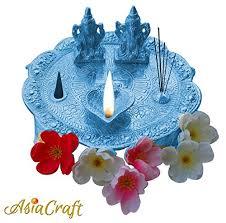 Silver Items Asiacraft Ganesh Laxmi Statue Idols For Diwali Pooja Silver