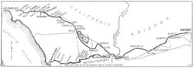 Us Desert Map Franklin Wins Los Angeles Phoenix Race Touring Topics November