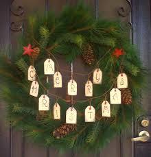 wooden christmas door decorations home decorations