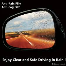 2017 new rain x anti fog anti rain film for suv rear view mirror