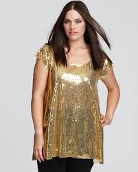 gold blouse plus size ady plus size sequin top bloomingdale s