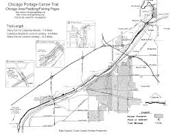 Chicago River Map by Des Plaines River Paddling Fishing
