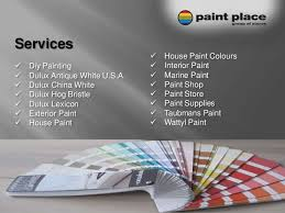 finding a good paint store