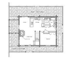 log home floor plan durango